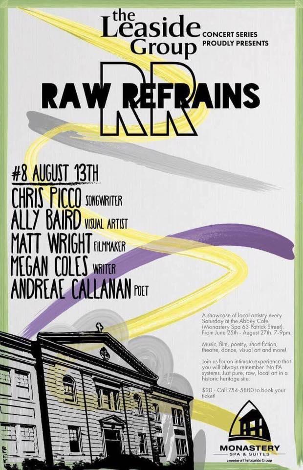 Raw Refrains 2016